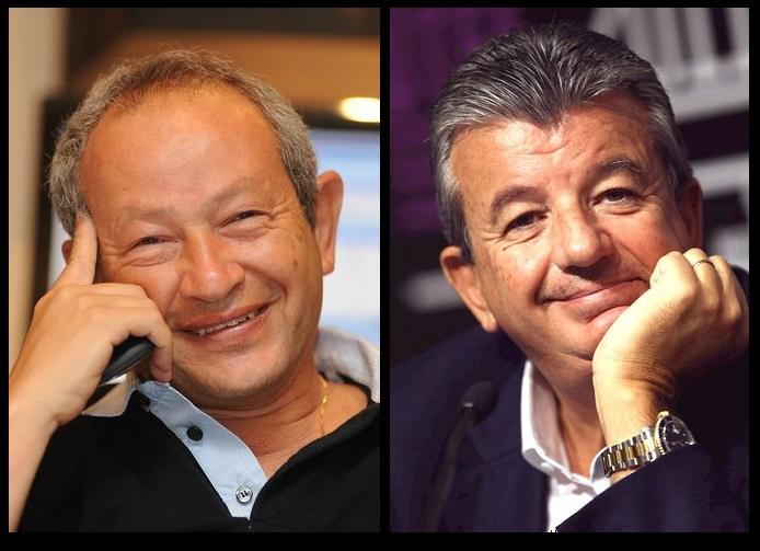 Naguib Sawiris and Tarak Ben Ammar publicity shots